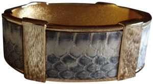 J.Crew J. Crew Wild Side Wide Snake Skin Bangle