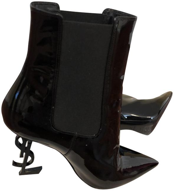 Item - Black Patent Leather Boots/Booties Size EU 39.5 (Approx. US 9.5) Narrow (Aa, N)