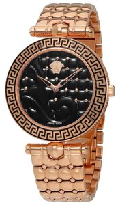 Versace Versace Watch VK7250015 Women's VANITAS Rose Gold-Tone Quartz Watch
