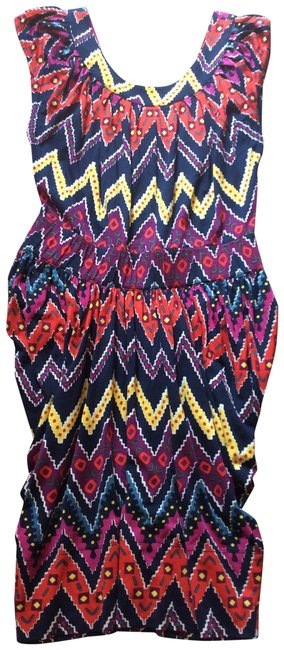 Item - Multicolor Cute and Comfy Short Casual Dress Size 6 (S)