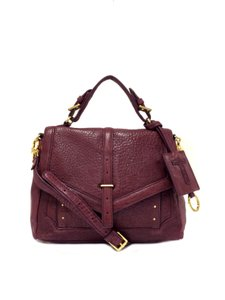 Tory Burch 797 Medium Satchel in Plum