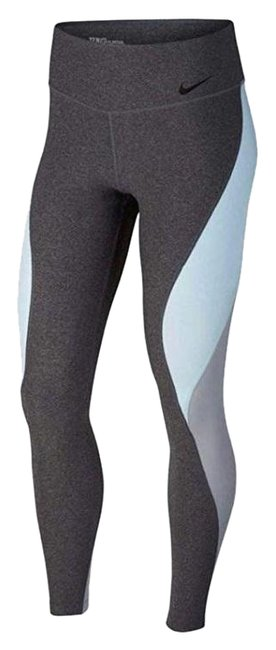 Item - Gray/Blue XL Women's Power Legend Training Compression Pants Activewear Bottoms Size 16 (XL, Plus 0x)