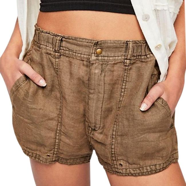 Item - Brown Beacon Utility Linen Nwot Shorts Size 4 (S, 27)