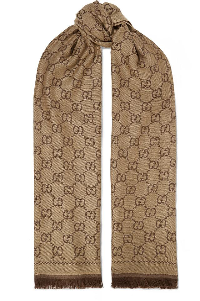 7a85721d7 Gucci Brand New - Gucci Reversible GG Scarf Image 0 ...