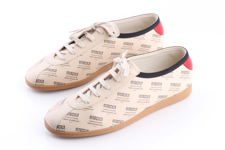 537bcf03196 Gucci Multicolor Falacer Stamp Print Sneakers Shoes Image 0 ...