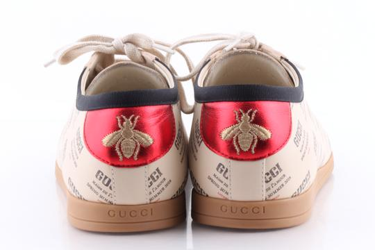 Gucci Multicolor Falacer Stamp Print Sneakers Shoes Image 6