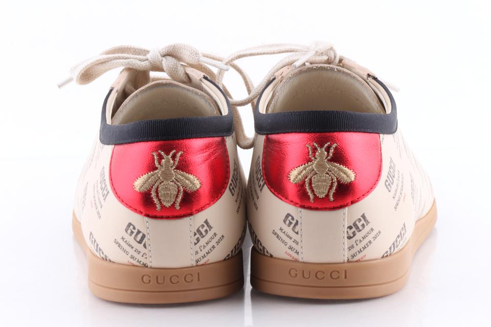 66f2379540a Gucci Multicolor Falacer Stamp Print Sneakers Shoes Image 11.  123456789101112