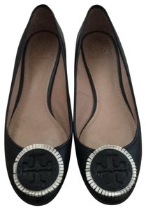 Tory Burch Black leather Flats
