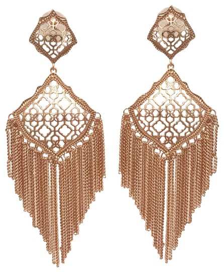 Preload https://img-static.tradesy.com/item/24621906/kendra-scott-rose-gold-kimora-fringe-earrings-0-1-540-540.jpg