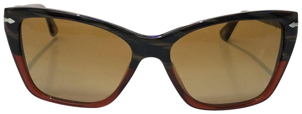 67a6d6582c Persol Multicolor Vintage Cat Eye New Condition Po 3023-s 953 85 Free 3 Day  Shipping Sunglasses