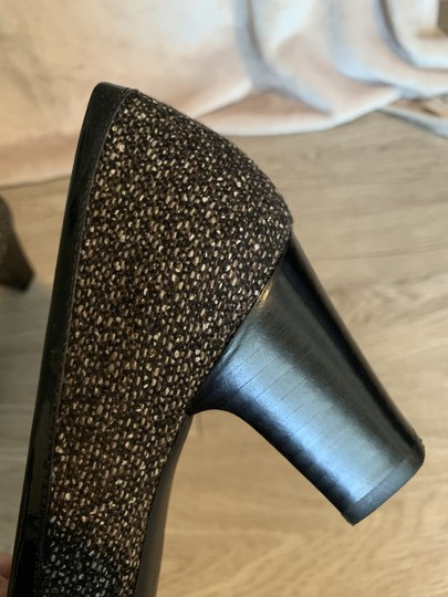 Bandolino Fabric Brown Speckled Pumps Image 2