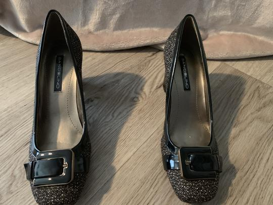 Bandolino Fabric Brown Speckled Pumps Image 4