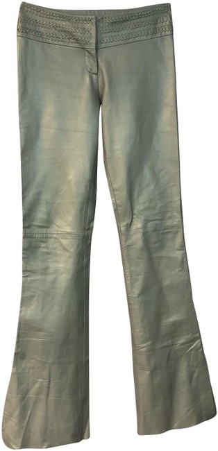 Preload https://img-static.tradesy.com/item/24622130/cache-light-gray-leather-pants-size-2-xs-26-0-1-650-650.jpg
