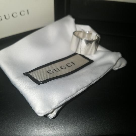 Gucci Authentic sterling silver Gucci cigar band ring Image 1