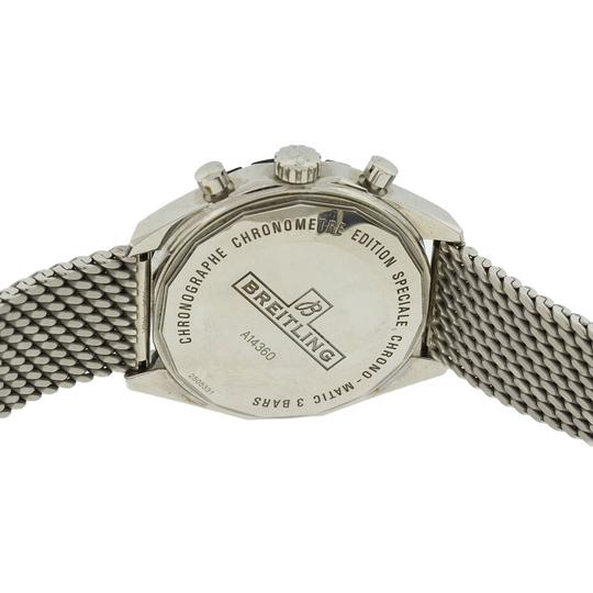 Breitling Breitling Chronomatic 49 A14360 Stainless Steel Men's Watch Image 8