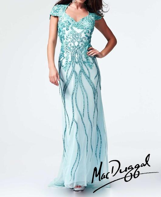 Mac Duggal Couture Prom Pageant Homecoming Dress Image 4