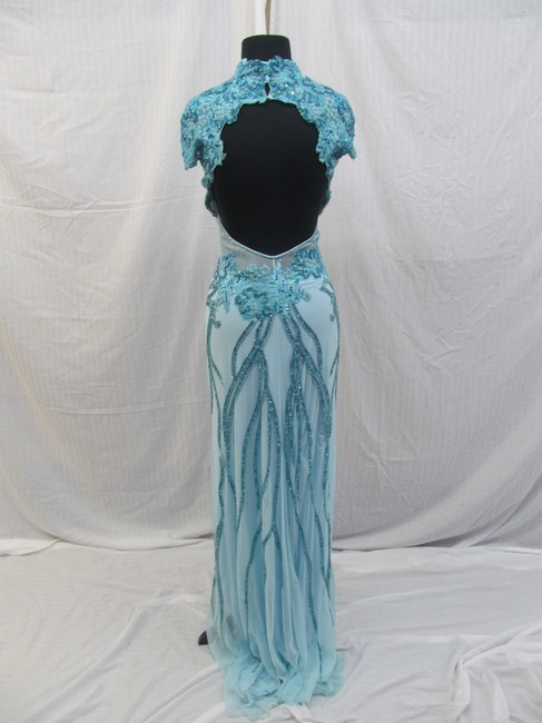 Mac Duggal Couture Prom Pageant Homecoming Dress Image 5