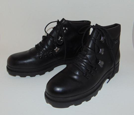 Camper Black Hiking Boots Image 2