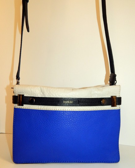 Botkier Tri Color Leather Clutch Cross Body Bag Image 10