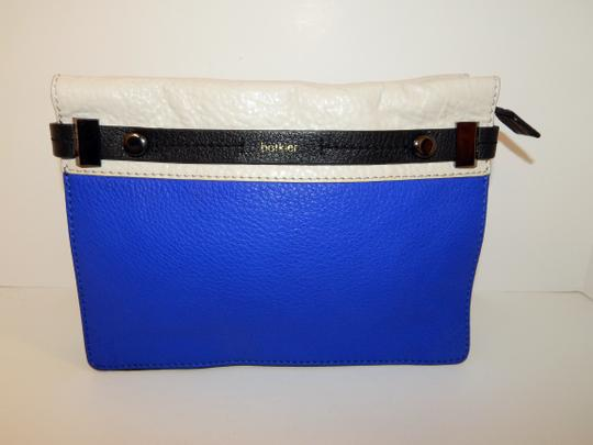 Botkier Tri Color Leather Clutch Cross Body Bag Image 11