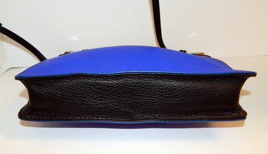 Botkier Tri Color Leather Clutch Cross Body Bag Image 4