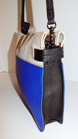 Botkier Tri Color Leather Clutch Cross Body Bag Image 5