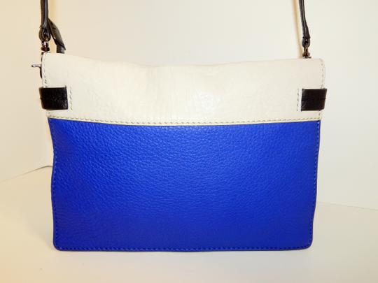 Botkier Tri Color Leather Clutch Cross Body Bag Image 6