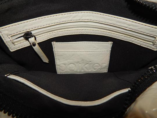 Botkier Tri Color Leather Clutch Cross Body Bag Image 7