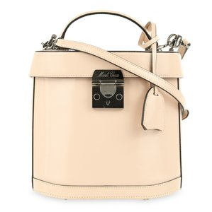 Mark Cross Leather Satchel in Pink