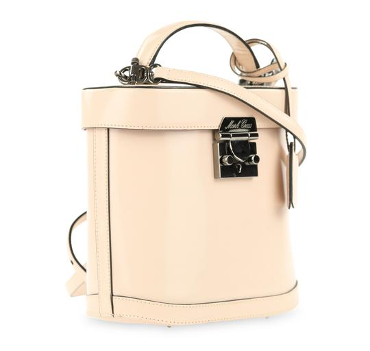Mark Cross Leather Satchel in Pink Image 1