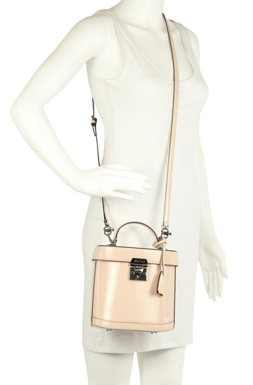 Mark Cross Leather Satchel in Pink Image 11