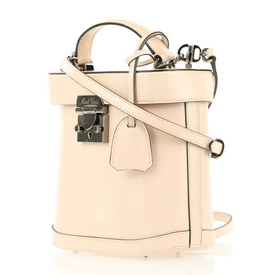 Mark Cross Leather Satchel in Pink Image 3
