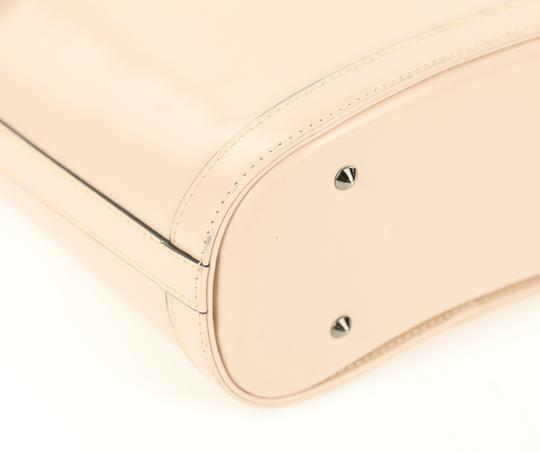 Mark Cross Leather Satchel in Pink Image 4