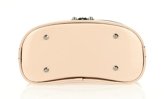 Mark Cross Leather Satchel in Pink Image 5