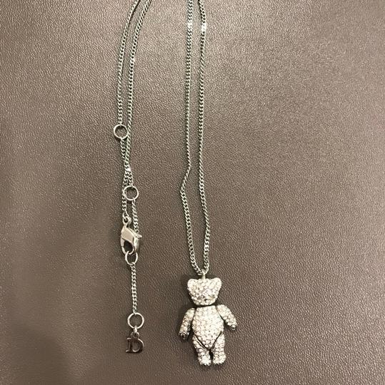Dior Teddy charm necklace Image 1