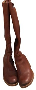 Lucky Brand whiskey-brown Boots