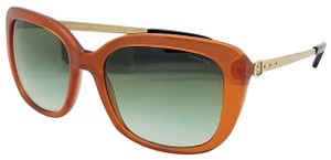 Coach New Coach sunglasses HC8229 55028E 55mm Amber Gold Gradient brown 8229