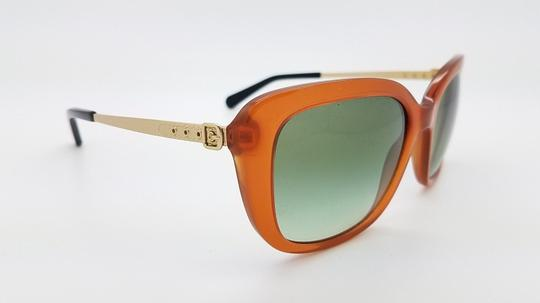 Coach New Coach sunglasses HC8229 55028E 55mm Amber Gold Gradient brown 8229 Image 7