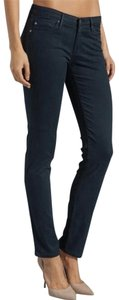 AG Adriano Goldschmied Stretchy Teal Straight Leg Jeans