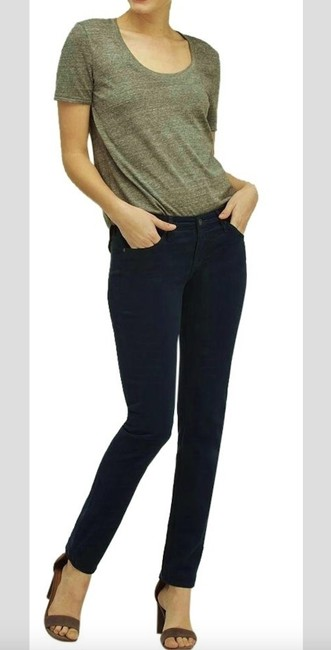 AG Adriano Goldschmied Stretchy Teal Straight Leg Jeans Image 1