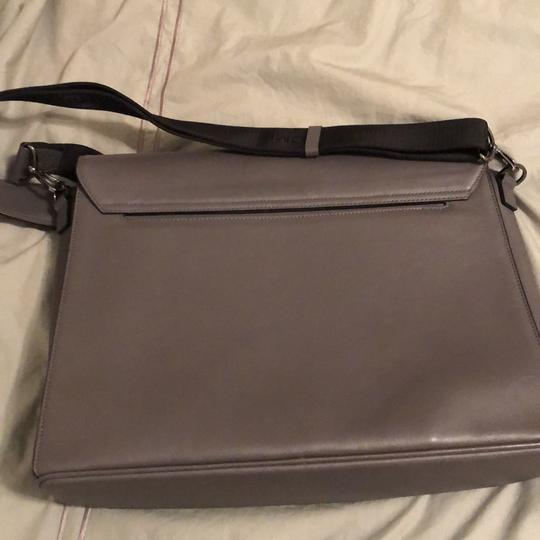 MCM grey large Messenger Bag Image 4