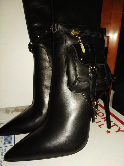 Kendall Miles Black Boots Image 3
