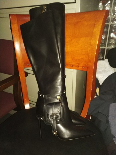 Kendall Miles Black Boots Image 6