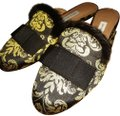 Tabitha Simmons Brown golden multiple Flats Image 0