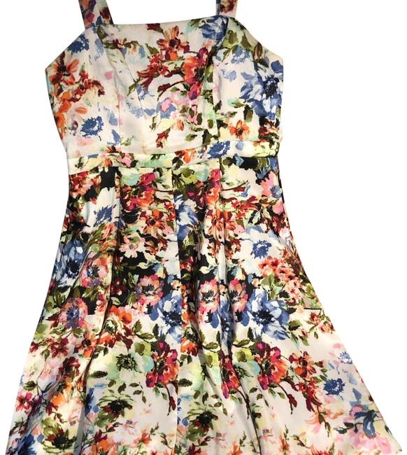 Preload https://img-static.tradesy.com/item/24622704/gabby-skye-floral-fit-and-flare-sundress-with-removable-shell-short-casual-dress-size-6-s-0-1-650-650.jpg