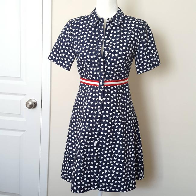 Draper James short dress Navy Blue/White on Tradesy Image 2