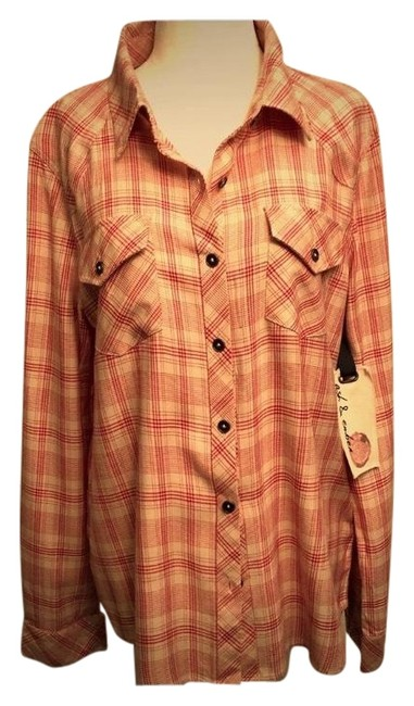 Preload https://img-static.tradesy.com/item/24622728/country-western-blouse-button-down-top-size-8-m-0-1-650-650.jpg