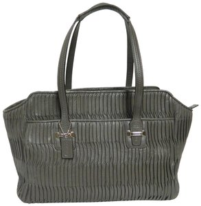Coach Quilted Leather Shoulder Bag