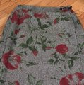 nouveux Skirt Red/Green/Black /Cream Image 2