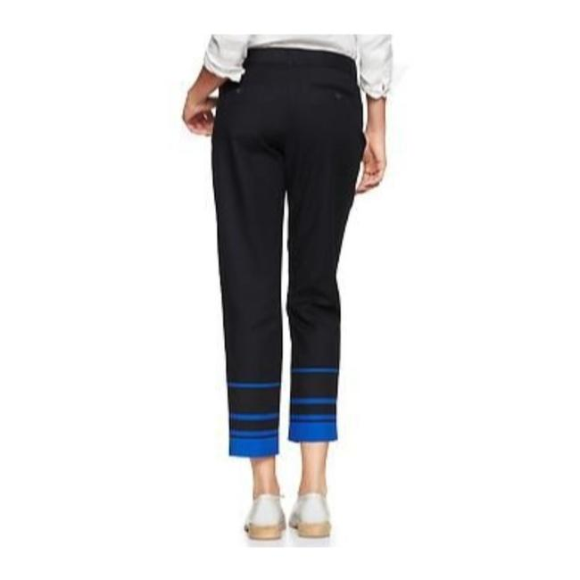 Gap Capri/Cropped Pants Black with Blue Image 2